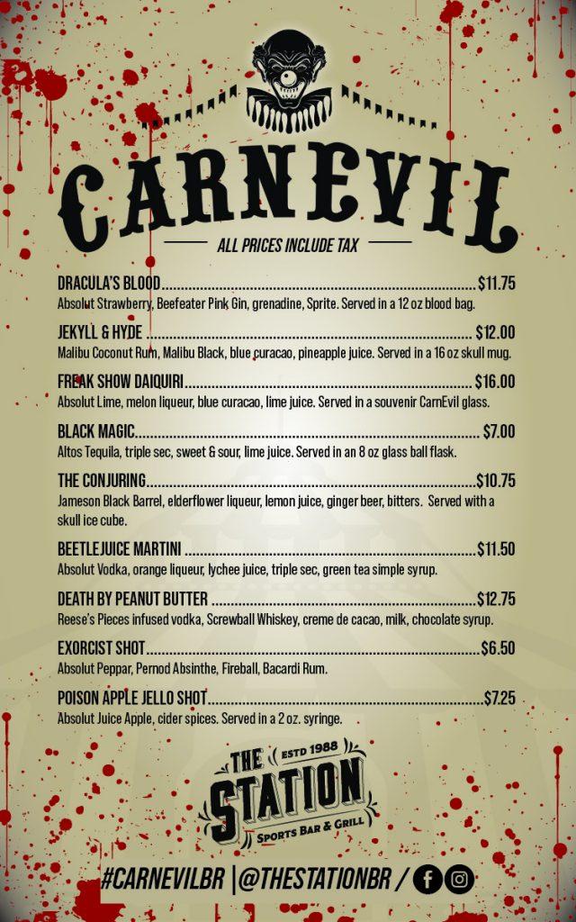 Station CarnEvil PopUp Bar